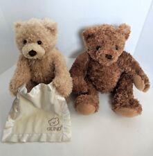 Infant Teddy Bear Lot ~ Dex Mother's Womb Heartbeat Bear & Peek-A-Boo Teddy Bear
