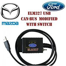 Forscan ELM327 USB OBD2 Diagnostic Tool CanBus Scanner With Switch For Mazda