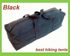 30'' Large Heavy Duty Canvas Tool Carry Bag Travel Luggage Duffle Tote Biker Blk