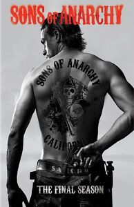 Sons Of Anarchy poster print  : 11 x 17 inches - Charlie Hunnam poster