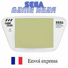 Ecran Sega Game Gear Screen blanc white [Vitre de remplacement GG] FRANCE