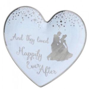 Disney Enchanting Cinderella Hochzeit Ring Teller Herzform A29340 Platte