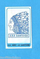 BELGIO-FOOTBALL 1972/73-PANINI-Figurina n.252- A.A. GENT - SCUDETTO/EMBLEEM-Rec