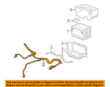 Cadillac GM OEM 09-10 STS-Battery Cable 25831921