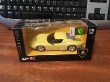 Mondo Motors 1/43 Scale Lamborghini Miura Concept - Yellow - Boxed