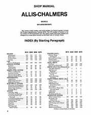 Allis Chalmers 8010 8030 8050 8070 Shop Manual 87 pages PDF on CD disc