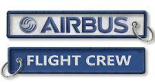 AIRBUS-Flight Crew-BagTag-WHITE/BLUE X2