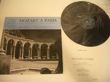 MOZART A PARIS LP SONATE N° 10 ET 11. KV 330/KV 331. JORG DEMUS HAMMERFLUGEL .