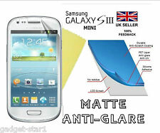 MATTE ANTI GLARE SCREEN PROTECTOR COVER GUARD FOR SAMSUNG GALAXY S3 MINI i8190