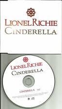 LIONEL RICHIE  Cinderella Made in EUROPE ONLY PROMO DJ CD Single USA Seller 2000