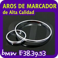 AROS CROMADOS DE MARCADOR PARA BMW E38 E39 E53
