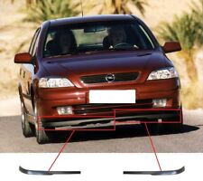 NEW VAUXHALL OPEL ASTRA FRONT BUMPER LOWER SPOILER LIP SET LEFT+RIGHT 1998-2004