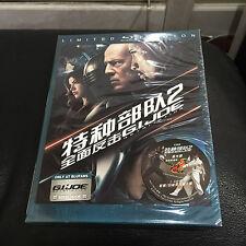 G.I. Joe 2 3D Blu-ray Steelbook w/ Slipcover | Blufans | #172/500 | NEW OAB