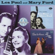 LES PAUL AND MARY FORD HIt Makers / Time To Dream 2on1 Cd
