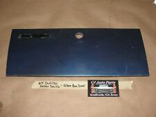 OEM 64 Cadillac Sedan Deville DASH GLOVE BOX COMPARTMENT DOOR ~ DARK BLUE
