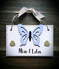 Personalised girls door sign - plaque