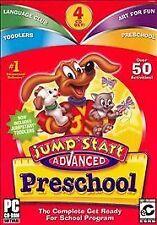Jumpstart Advanced Preschool 4 CD Over 60 Activities 3D Virtual World (PC Games)