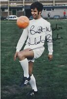 Mick Bates Hand Signed 12x8 Photo - Leeds United Football Autograph.