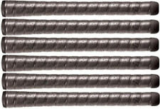 6 (SIX) Winn Excel Golf Grips SOFT Spiral Wrap 1/8 th Jumbo Black 7715W