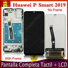 Pantalla Para Huawei P Smart 2019 POT-LX1 LCD Táctil Con Marco Reemplazo Negro