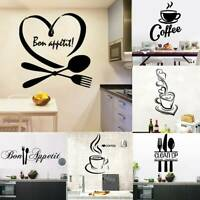 Vinyl Home Room Decor Art Quote Wall Decal Stickers Kitchen Removable Mural DIY