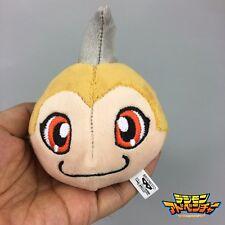 "Digimon Adventure Digital Monster Tunomon Charm Soft Toy 2"" Mini Plush Keychain"