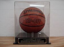 Basketball Case With A David Robinson San Antonio Spurs Engraved Nameplate