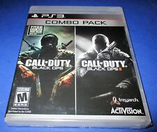 Call of Duty: Black Ops 1 & 2 Combo Pack Sony PlayStation 3 PS3 New! Free Ship!