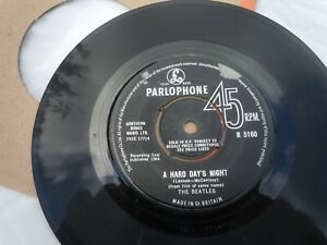 The Beatles - A Hard Days Night - 1964 IN VG+ Condition, Refer to Pictures