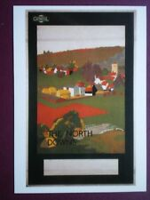POSTCARD LTM-181 LONDON TRANSPORT 1921 POSTER 'THE NORTH DOWNS' BY BUS