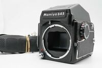 [EXC+5 w/ Strap] Mamiya M645 Camera Body PD Prism Finder 120 Holder From Japan