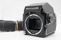 [EXC+5 w/ Strap] Mamiya M645 Camera Body PD Prism Finder 120 Holder From Japan