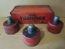 Vintage Anthes Force Oiler Co. TRUKFLAR 3 Roadside Kerosene Smudge Pots