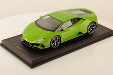 1/18 MR Collection Lamborghini Huracan Evo Coupe Verde Manthis lmtd 49 pcs