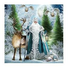 Santa Claus Diamond Painting Embroidery DIY Paint By Number Kit Wall Decor