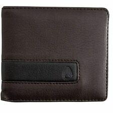 NEW Nixon Showoff Bi-Fold Wallet Brown