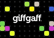 giffgaff SIM Card with £5 FREE Credit * - Fast Delivery