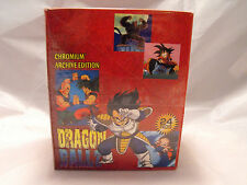 DRAGONBALL Z CHROMIUM ARCHIVE EDITION COMPLETE SEALED BOX