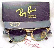 "RAY-BAN NOS VINTAGE B&L CLASSIC METALS ""SIGNET"" W0386 24kGP *NEWinBOX SUNGLASSES"