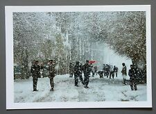 Michael Yamashita Limited Edition Photo 24x17cm Kaxgar Kashgar China 2002 Winter