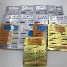 10pcs Fg Dental Carbide Burr Burs Drills Fg 2345701 3301558 For High Speed