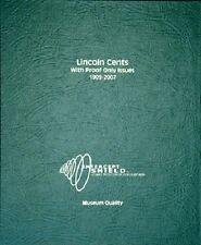 Intercept Shield Coin Album: Lincoln Cents Usa 1909-2007 Museum High Quality