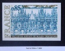 Timbres de France - Neuf** Luxe - Non Dentelés - Série de 5t.Y&T n° 1806 à 1810