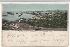 Spain; Santa Cruz De Tenerife UB PPC, 1902 PMK To Miss Mason, Padstow