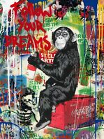 MR BRAINWASH 2019 Original  Art  Painting  Mixed Media
