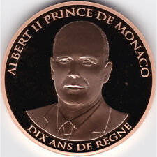 Monaco - 100 euros or BE 2015 - Dix ans de règne