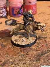 Games Workshop Lord of the Rings Metal Gothmog On Warg Unpainted Warhammer