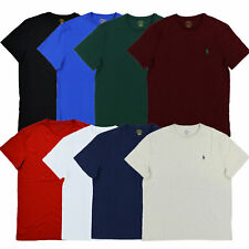 Polo Ralph Lauren Mens T-Shirt Short Sleeve Crew Neck Tee Shirt S M L Xl Xxl New