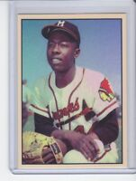 Hank Aaron '57 Milwaukee Braves MVP season MC#166 tribute card