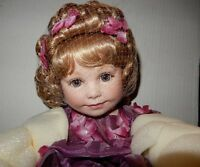 Marie Osmond Porcelain Limited Edition Doll Harmony Becoming Butterflies
